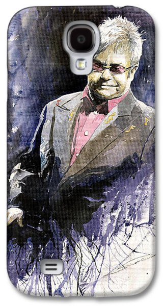 Jazz Sir Elton John Galaxy S4 Case by Yuriy  Shevchuk