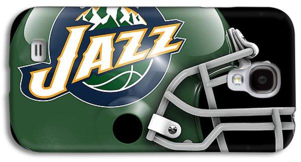 Jazz What If Its Football Galaxy S4 Case by Joe Hamilton