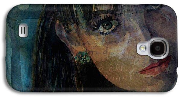 Jean Shrimpton Galaxy S4 Case by Paul Lovering