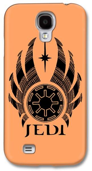 Jedi Symbol - Star Wars Art, Teal Galaxy S4 Case