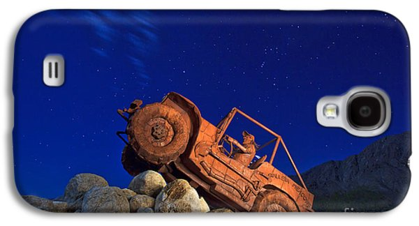 Jeep Adventures Under The Night Sky In Borrego Springs Galaxy S4 Case by Sam Antonio Photography