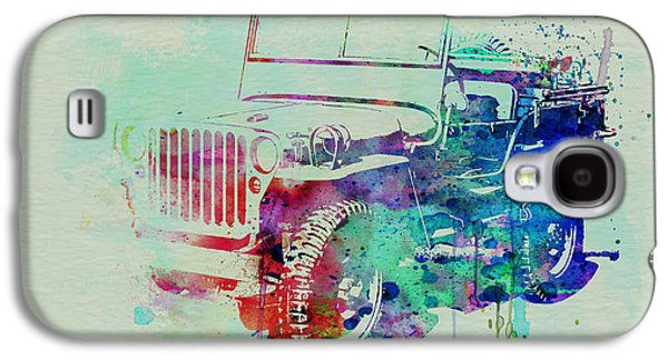 Jeep Willis Galaxy S4 Case by Naxart Studio