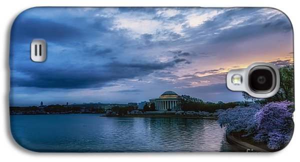 Jefferson Memorial Galaxy S4 Case - Jefferson Memorial Dawn by Thomas R Fletcher
