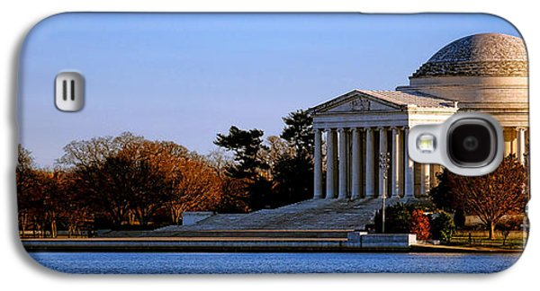 Jefferson Memorial Sunset Galaxy S4 Case by Olivier Le Queinec