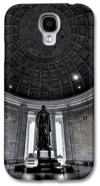 Jefferson Statue In The Memorial Galaxy S4 Case by Andrew Soundarajan