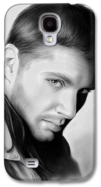 Jensen Ackles Galaxy S4 Case by Greg Joens