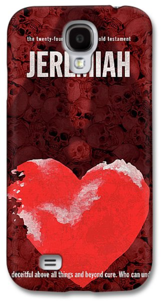 Jeremiah Books Of The Bible Series Old Testament Minimal Poster Art Number 24 Galaxy S4 Case