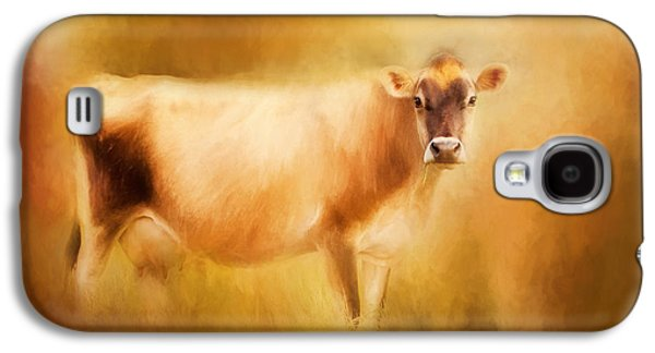 Jersey Cow  Galaxy S4 Case by Michelle Wrighton