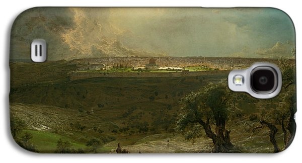 Jerusalem From The Mount Of Olives Galaxy S4 Case by Frederic Edwin Church
