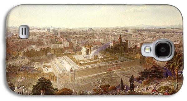 Jerusalem In Her Grandeur Galaxy S4 Case by Henry Courtney Selous