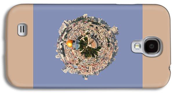 Jerusalem-small Planet Galaxy S4 Case