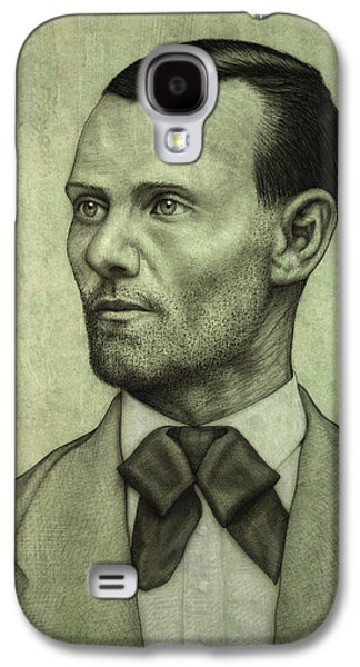 Jesse James Galaxy S4 Case by James W Johnson