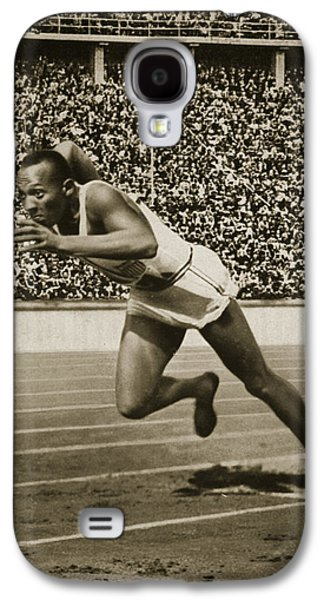 Jesse Owens Galaxy S4 Case by American School