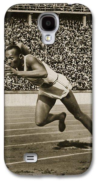 Jesse Owens Galaxy S4 Case by American School
