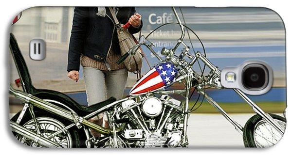 Jessica Alba, Captain America, Easy Rider Galaxy S4 Case