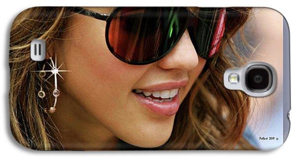 Jessica Alba, Cool Shades Galaxy S4 Case