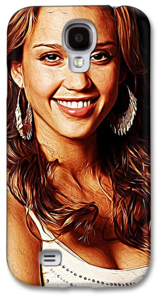 Jessica Alba Galaxy S4 Case