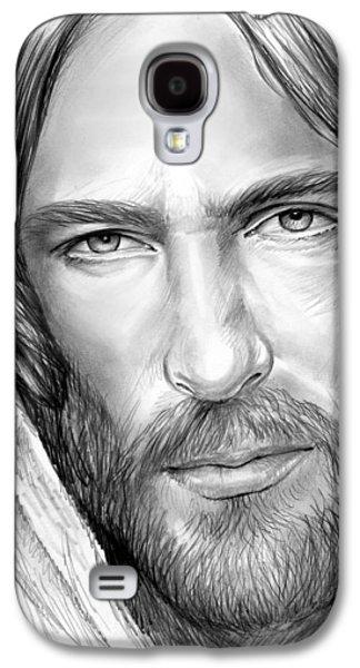 Jesus Face Galaxy S4 Case by Greg Joens