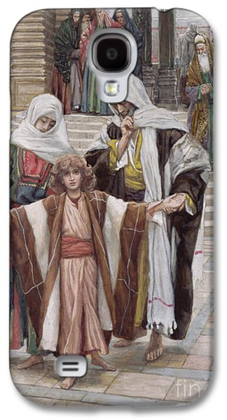 Jesus Found In The Temple Galaxy S4 Case by Tissot
