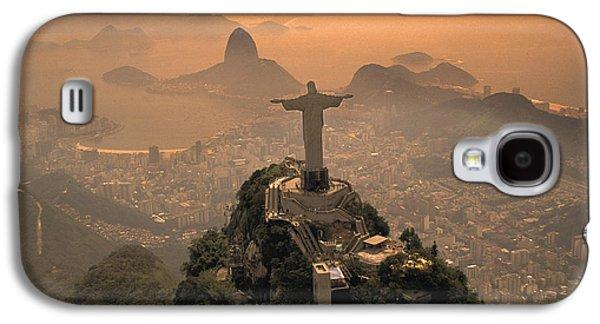 Jesus In Rio Galaxy S4 Case by Christian Heeb