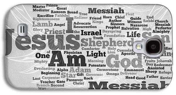 Jesus Messiah Galaxy S4 Case by Angelina Vick