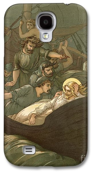 Jesus Sleeping During The Storm Galaxy S4 Case by John Lawson