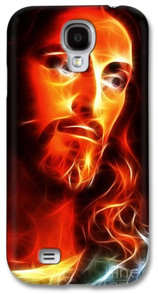 Jesus Thinking About You Galaxy S4 Case