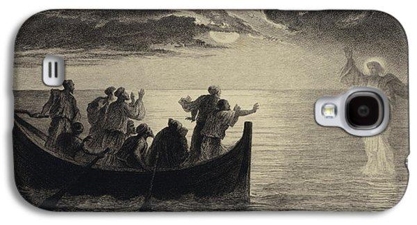 Jesus Walking On The Sea Galaxy S4 Case