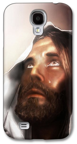 Jesus Wept Galaxy S4 Case by Mark Spears