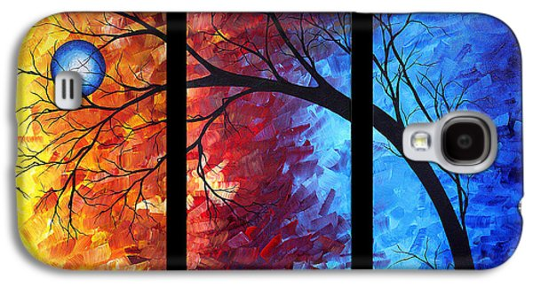 Jewel Tone II By Madart Galaxy S4 Case by Megan Duncanson