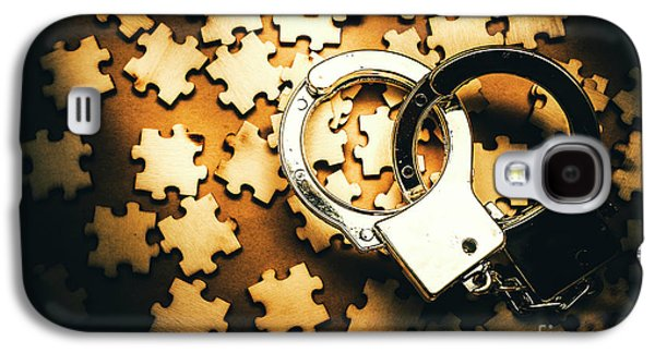 Jigsaw Of Misconduct Bribery And Entanglement Galaxy S4 Case by Jorgo Photography - Wall Art Gallery