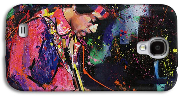 Jimi Hendrix II Galaxy S4 Case