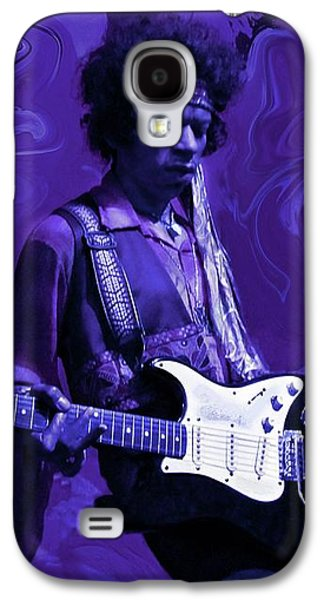 Guitar Galaxy S4 Case - Jimi Hendrix Purple Haze by David Dehner