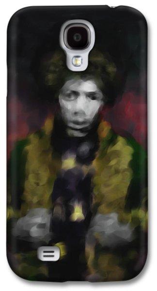 Jimmi Hendrix 550 2 Galaxy S4 Case by Mawra Tahreem