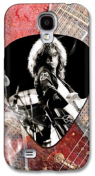 Jimmy Page Led Zeppelin Art Galaxy S4 Case
