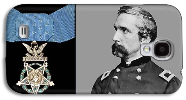 J.l. Chamberlain And The Medal Of Honor Galaxy S4 Case by War Is Hell Store