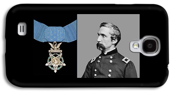 J.l. Chamberlain And The Medal Of Honor Galaxy S4 Case