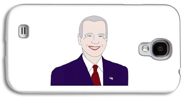 Joe Biden Galaxy S4 Case by Priscilla Wolfe