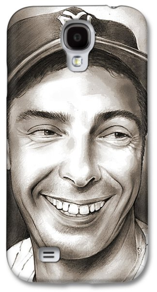Joe Dimaggio Galaxy S4 Case by Greg Joens