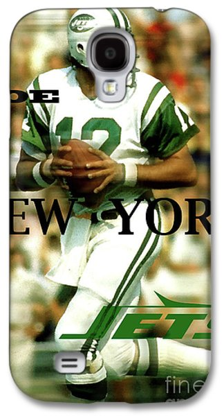Joe Namath, Broadway Joe, New York Jets Galaxy S4 Case