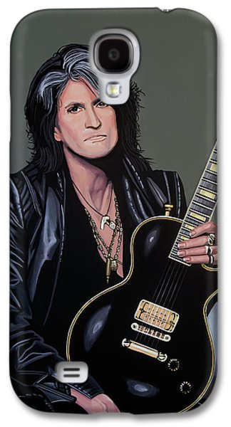 Joe Perry Of Aerosmith Painting Galaxy S4 Case
