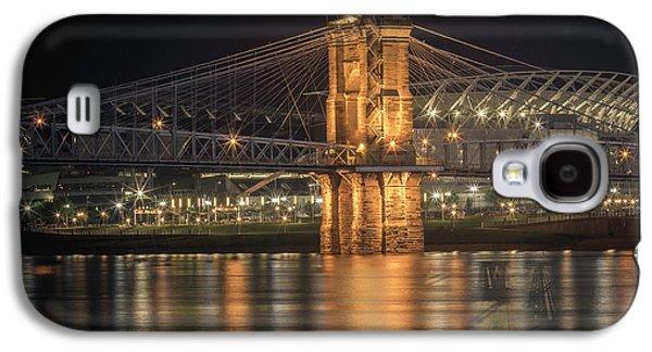 John A. Roebling Suspension Bridge Galaxy S4 Case
