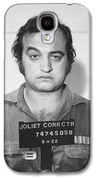 John Belushi Mug Shot For Film Vertical Galaxy S4 Case by Tony Rubino