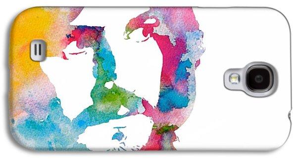 Robert Plant Galaxy S4 Case - John Bonham Watercolor by Dan Sproul