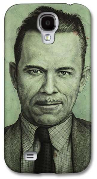 John Dillinger Galaxy S4 Case by James W Johnson