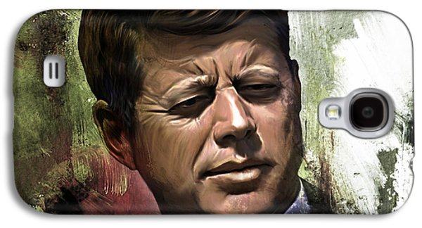 John F. Kennedy 01 Galaxy S4 Case by Gull G