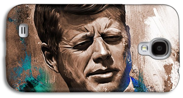 John F. Kennedy 02 Galaxy S4 Case by Gull G