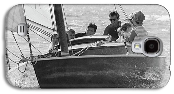 John F. Kennedy And Family Galaxy S4 Case