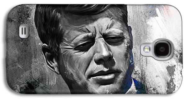 John F. Kennedy Galaxy S4 Case by Gull G