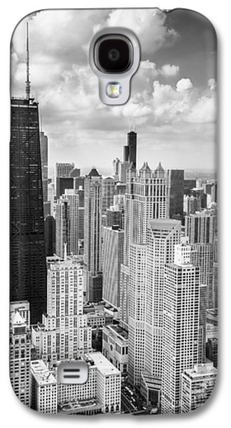 John Hancock Building In The Gold Coast Black And White Galaxy S4 Case